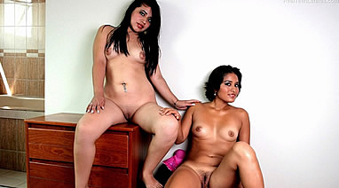 mara and kiara from realteenlatinas posing nudes in a casting interview